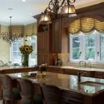 Фото - Хозяйке на заметку: выбор штор для кухни