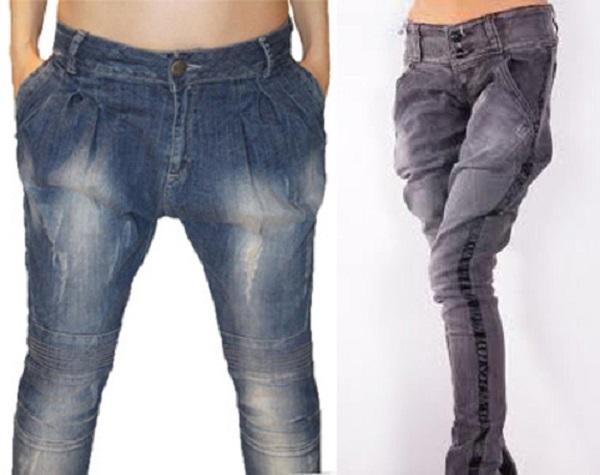 Женские джинсы галифе