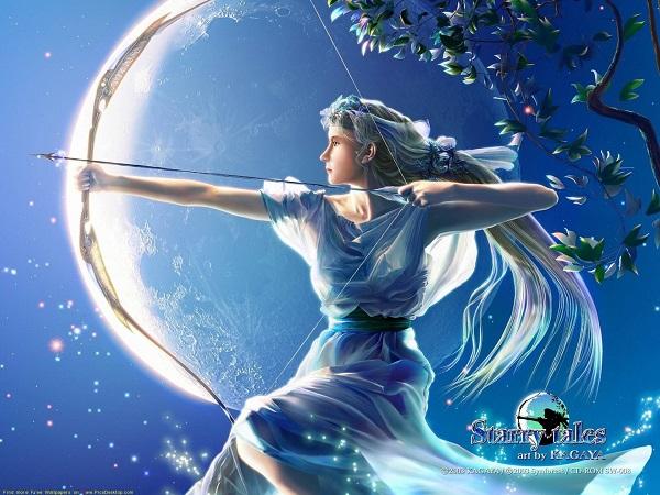 Луна находится в знаке Стрельца