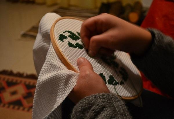 Техники вышивки