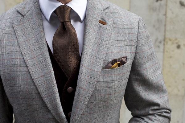 Шелковый галстук 1