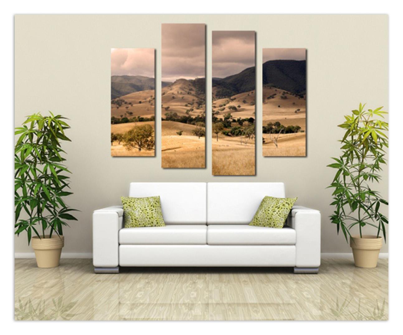 Фото - Галерею в каждый дом! Как подобрать картины для интерьера?