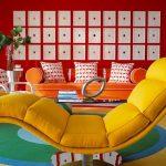 Фото - Мебель в интерьере поп-арт