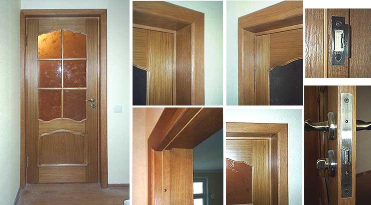 Фото - Монтаж межкомнатных дверей