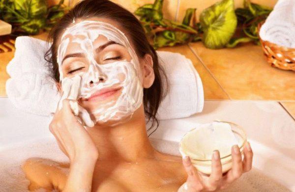 маски помогут сделать лицо свежим