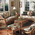 Фото - Дачная складная мебель может быть плетеной