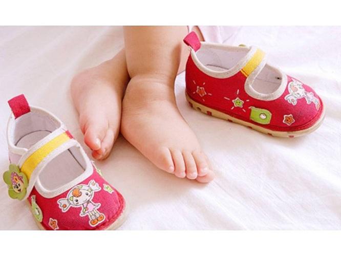 подобрать размер стопы ребенка