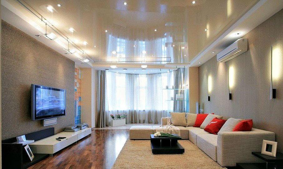 какой потолок выбрать - подвесной или натяжной