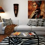 Фото - Африканские мотивы в интерьере