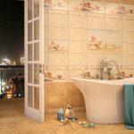 Керамическая плитка – основа для неординарного декора