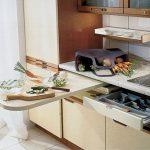 Несколько способов расстановки мебели на кухне